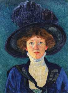 Sigismund Righini - Lady With Hat