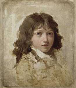 Louis Léopold Boilly - PORTRAIT D'UN FILS BOILLY