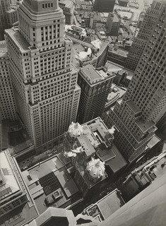 Financial District Rooftops I, Manhattan, Print by Berenice Abbott (1898-1991, United States)