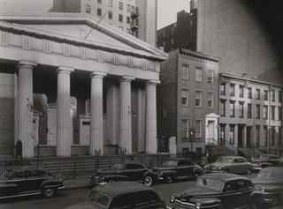Village Presbyterian Church, 143 West 13th Street, Print by Berenice Abbott (1898-1991, United States)