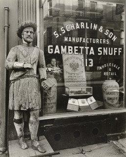 Snuff Shop, 113 Division Street, New York, Print by Berenice Abbott (1898-1991, United States)