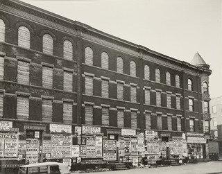 Fourth Avenue, no. 154, Brooklyn, Print by Berenice Abbott (1898-1991, United States)