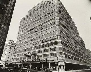 Starrett Lehigh Building, 601 West 26th Street, Manhattan, 1936 by Berenice Abbott (1898-1991, United States) | Famous Paintings Reproductions | WahooArt.com