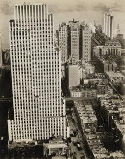 Daily News Building, 220 East 42nd Street, Manhattan, Print by Berenice Abbott (1898-1991, United States)