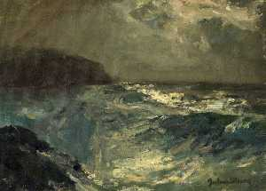 Albert Julius Olsson - Sea Study