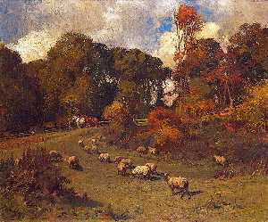 Alfred James Munnings - Crostwick Common, Norfolk