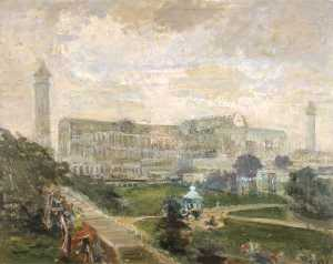Jacques-Emile Blanche - Crystal Palace, Sydenham, London