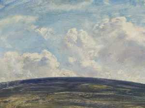 Alfred James Munnings - Sky Study