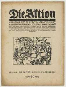 Arthur Segal - Die Aktion, vol. 5, no. 20 21