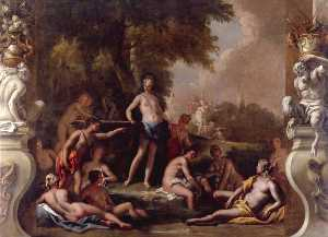 Sebastiano Ricci - Diana and Her Nymphs Bathing