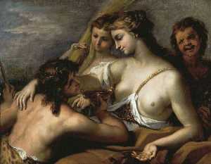 Sebastiano Ricci - Bacchus and Ceres