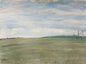 Alfred James Munnings - A Racecourse