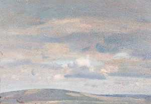 Alfred James Munnings - Cloud Study (recto)