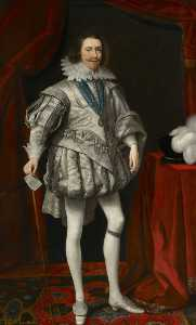 Daniel I Mijtens - George Villiers (1592–1628), 1st Duke of Buckingham