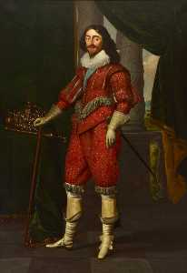 Daniel I Mijtens - Charles I (1600–1649), King of Great Britain and Ireland