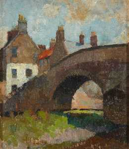 William George Gillies - Nungate Bridge, Haddington