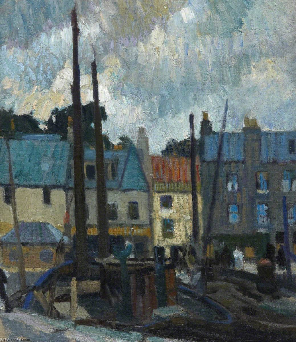 Order Art Reproductions | Anstruther, 1923 by William George Gillies | WahooArt.com