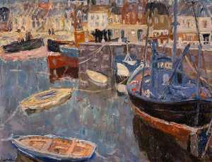 William George Gillies - Anstruther Harbour