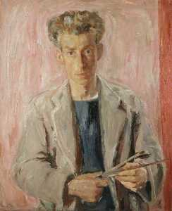 William George Gillies - Sir William George Gillies (1898–1973), Artist, Self Portrait