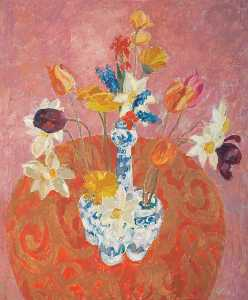 William George Gillies - The Tulip Vase