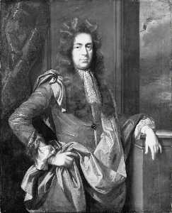 John Closterman - Sir John Aubrey (c.1650–1700), 2nd Bt