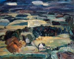 William George Gillies - Landscape, 1932