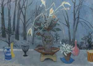 William George Gillies - Large Still Life