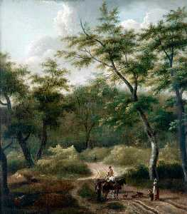 Jan Jansz Wijnants - Landscape