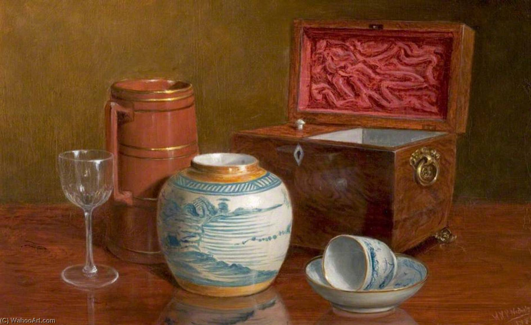 Still Life, 1885 by William Newzam Prior Nicholson (1872-1949, United Kingdom) | Museum Quality Reproductions | WahooArt.com