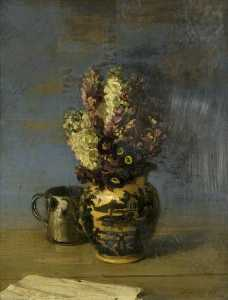 William Newzam Prior Nicholson - The Leeds Vase