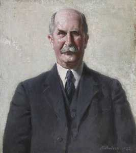 William Newzam Prior Nicholson - Sir William Henry Bragg (1862–1942)