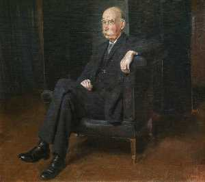 William Newzam Prior Nicholson - Sir Richard Lodge (1855–1936)