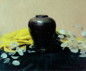 William Newzam Prior Nicholson - The Black Vase