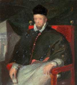 William Newzam Prior Nicholson - Album Copies of Old Masters and other Paintings (no.68, p.28)