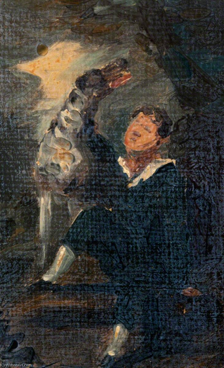 Album Copies of Old Masters and other Paintings (no.83, p.33), Oil On Canvas by William Newzam Prior Nicholson (1872-1949, United Kingdom)