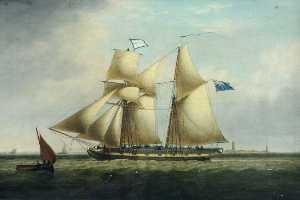 John Ward - The 'Fanny Voase' off Spurn