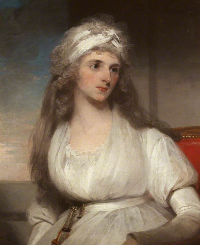 Lady Anna Powell (1773–1809), Oil On Canvas by Thomas Lawrence (1769-1830, United Kingdom)