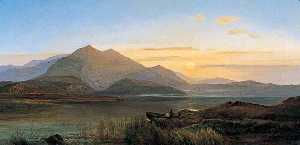 Charles Robert Leslie - Evening in the Highlands