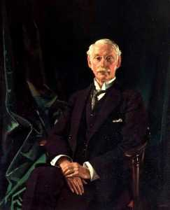 William Newenham Montague Orpen - Sir Charles Algernon Parsons (1854–1931)