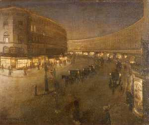 William Newenham Montague Orpen - Regent Street