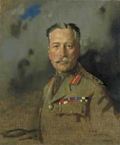 William Newenham Montague Orpen - Field Marshal Sir Douglas Haig (1861–1928), KT, GCB, GCVO, KCIE, Commander in Chief, France, from 15 December 1915