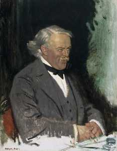William Newenham Montague Orpen - David Lloyd George (1863–1945)