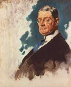 William Newenham Montague Orpen - John Andrew Hamilton, Viscount Sumner
