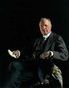 William Newenham Montague Orpen - Sir Thomas Jaffrey, Bt, LLD, Chairman of Aberdeen Art Gallery Committee (1928–1951)
