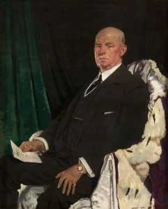 William Newenham Montague Orpen - Sir Thomas Paxton (1860–1930), Lord Provost of Glasgow (1920–1923)