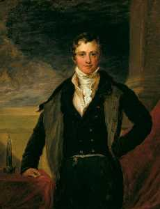 John Linnell - Sir Humphry Davy (1778–1829), Scientist (copy after Sir Thomas Lawrence)