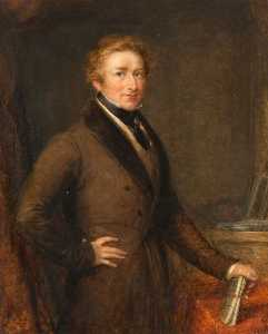 John Linnell - Sir Robert Peel (1788–1850), 2nd Bt, Prime Minister