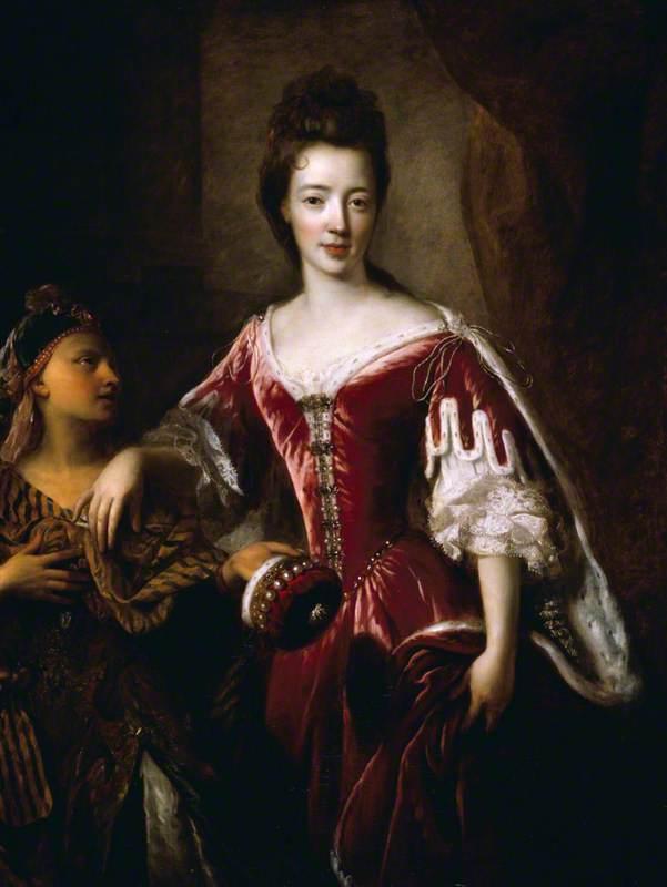 Ca s'est passé en septembre ! Francois-De-Troy-Lady-Mary-Herbert-1659-1744-1745-Viscountess-Montagu