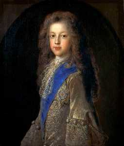Jean François De Troy - Prince James Francis Edward Stuart (1688–1766), Son of James VII and II