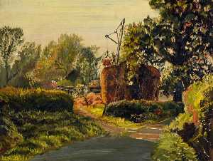 Francis Ferdinand Maurice Cook - Haymaking, Somerset